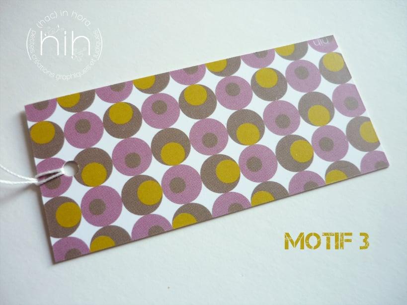 Image of étiquettes cadeau [GrAfiK] coloris 2