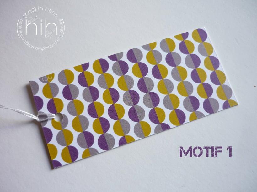Image of étiquettes cadeau [GrAfiK] coloris 6
