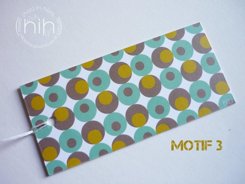 Image of étiquettes cadeau [GrAfiK] coloris 1