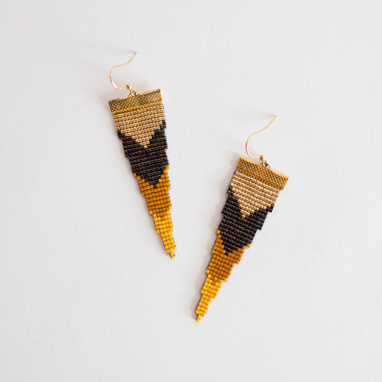 Image of Tokyo // Loom-beaded Earrings