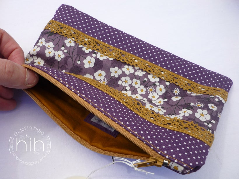 Image of pochette patchwork / les liberty 15