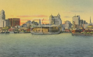 Image of Buffalo Skyline - Waterfront