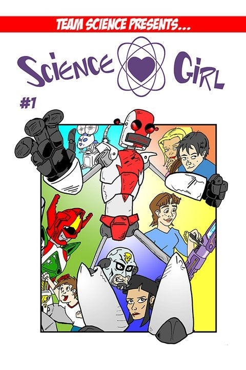 Image of Science Girl #1