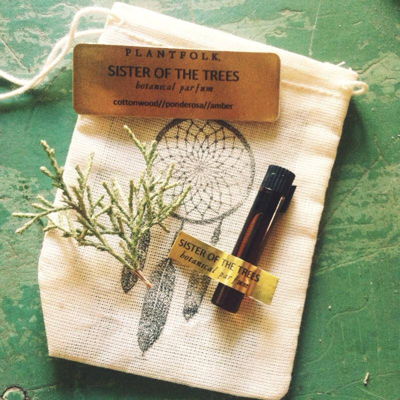 Image of sister of the trees bioregional botanical parfum
