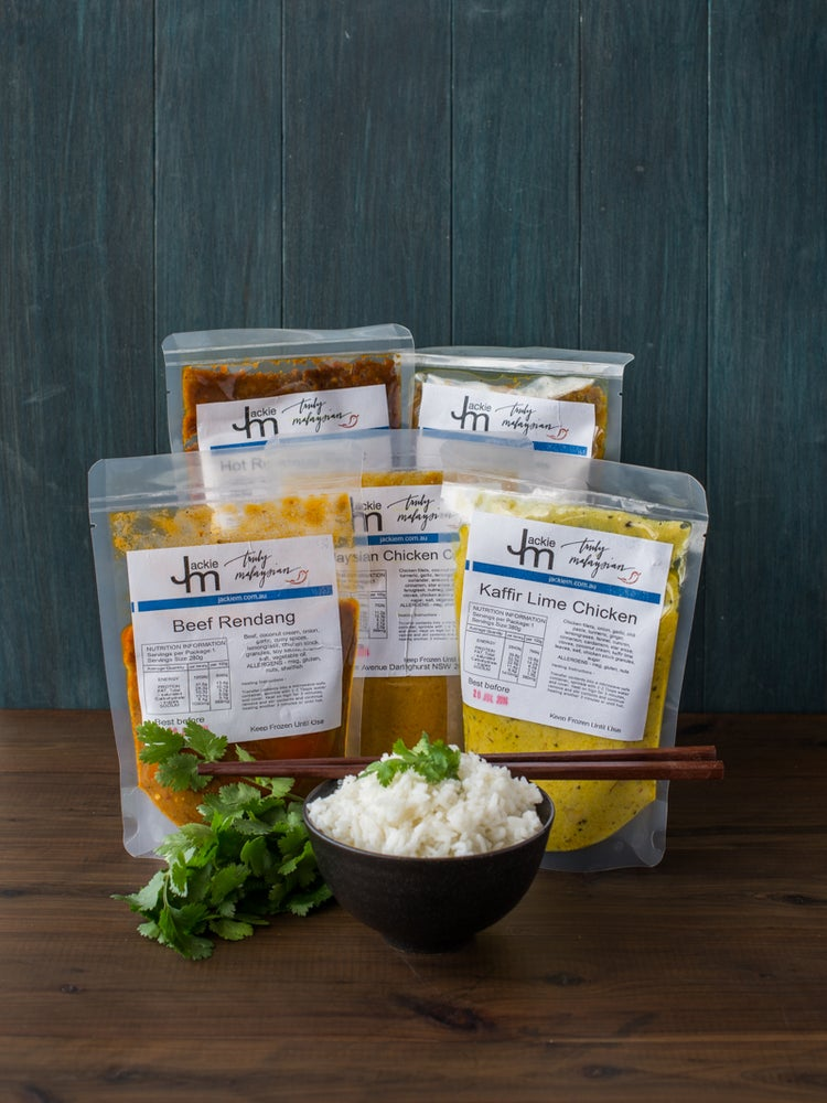 Image of 10 Curry Pastes, Sides and/or Sauces + Delivery