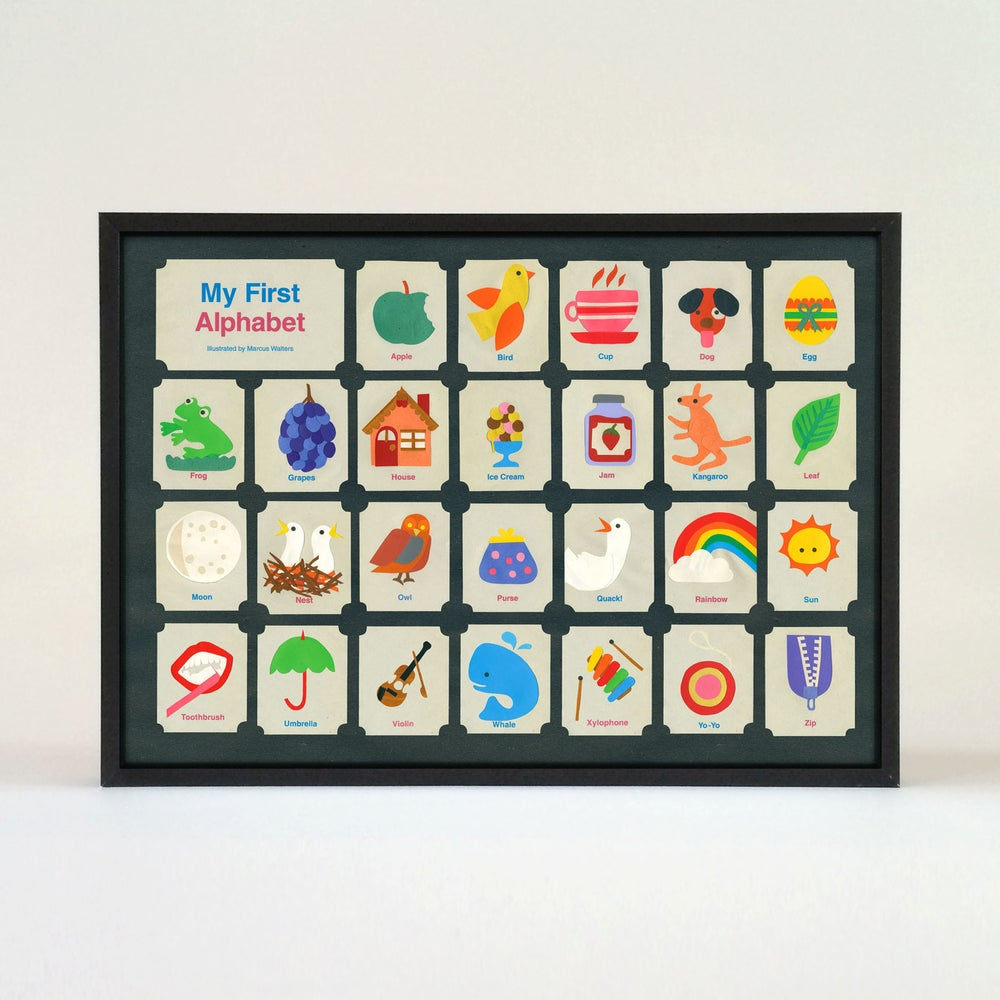 Image of Children's  First Alphabet Poster