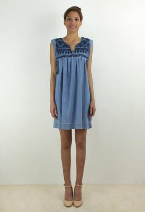 Image of DENIM DRESS