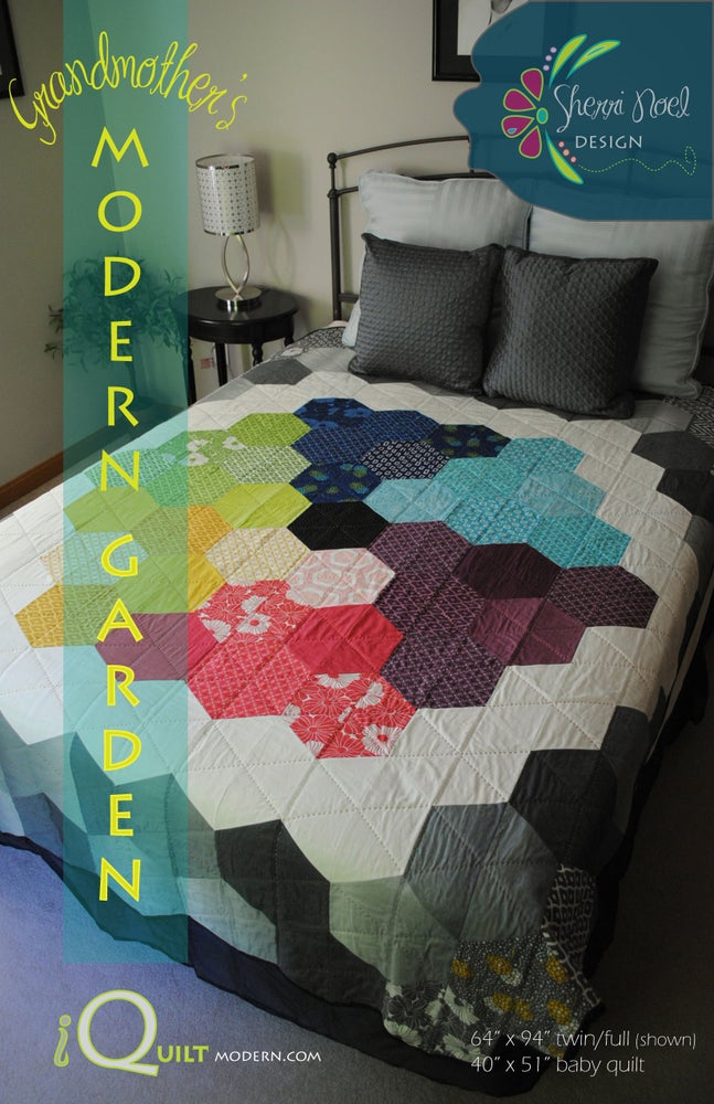Image of Grandmother's Modern Garden ~ PDF Quilt Pattern