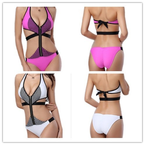 Image of SYNS BEACH ZIPPER ONE-PIECE