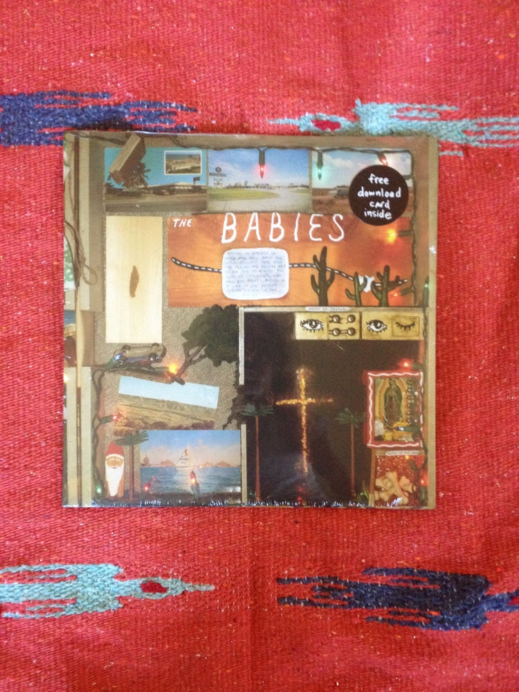 Image of THE BABIES SELF TITLED LP