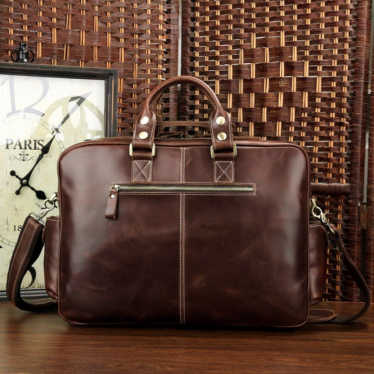 3b9ee3d37 ... Image of Handmade Superior Leather Business Travel Bag / Tote /  Messenger / Duffle Bag ...