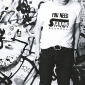 Image of You Need Speech Fewapy T-shirt - White (SFTEE001)