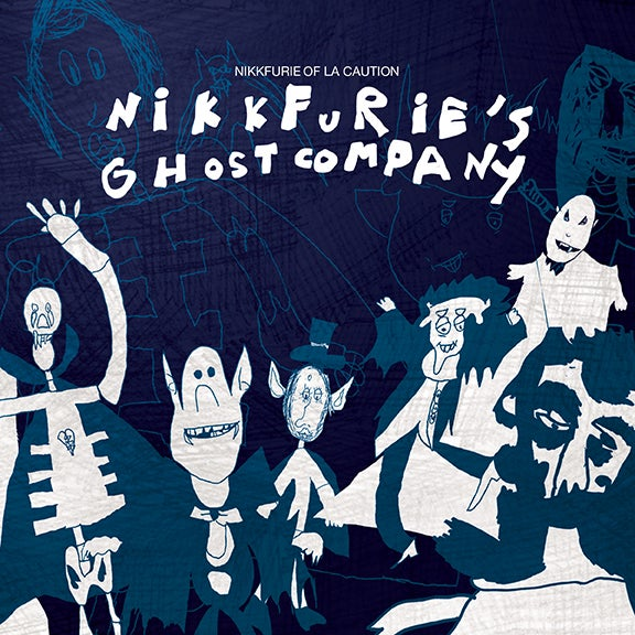 Image of Nikkfurie of La Caution : Nikkfurie's Ghost Company (CD)