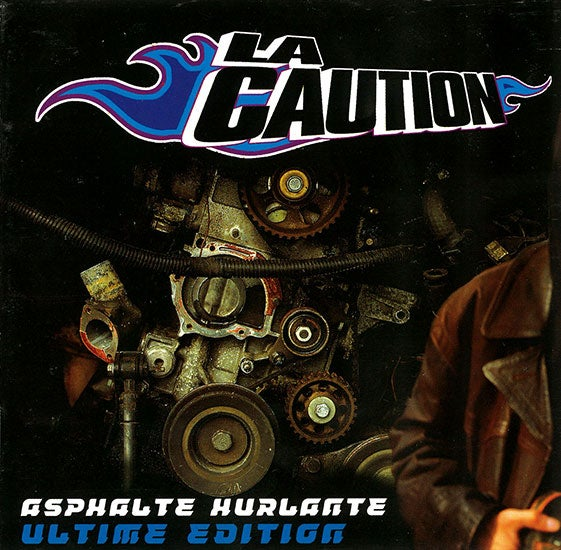 Image of La Caution : Asphalte Hurlante Ultime Edition (Double CD) Derniers exemplaires