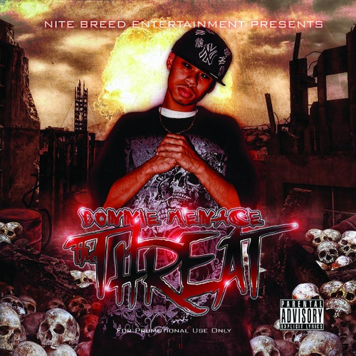 "Image of Donnie Menace ""The Threat"" CD"