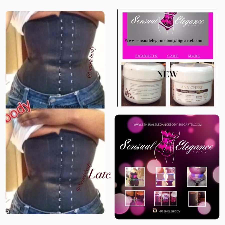 Image of GET WAISTED BUNDLE2: 2HOOK LATEX TRAINER & CREAM