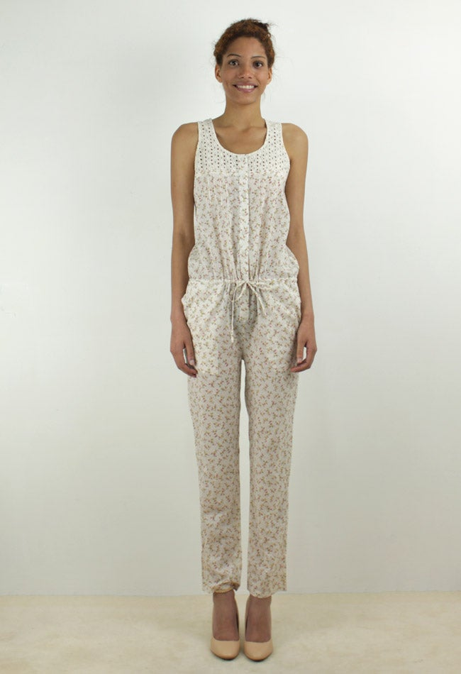 Image of FLOWERS JUMPSUIT