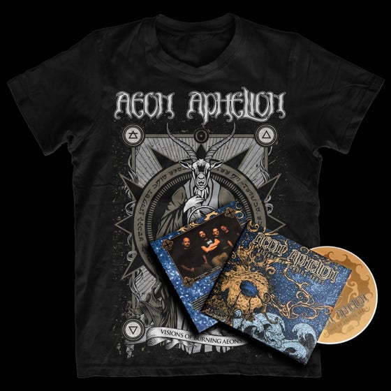 Image of Burning Aeons CD/T-shirt Bundle