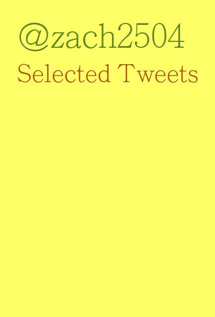 Image of 'Selected Tweets' Book