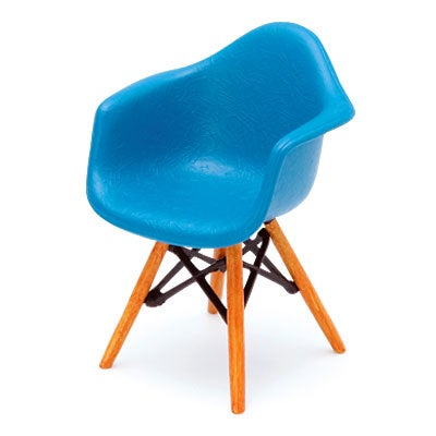 Image of Designer Chairs Miniature – Shell Armchair DAW. Eames