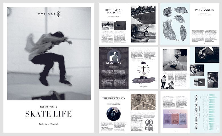 Image of Editions: Skate Life Zine