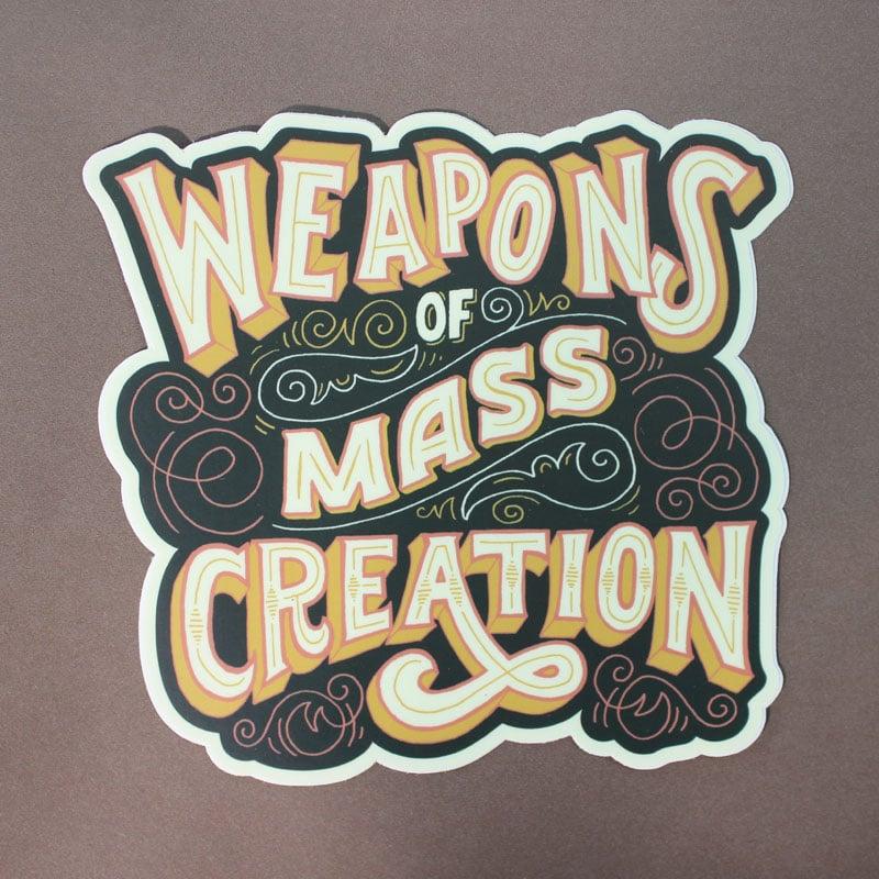 Image of WMC Sticker by Mary Kate McDevitt