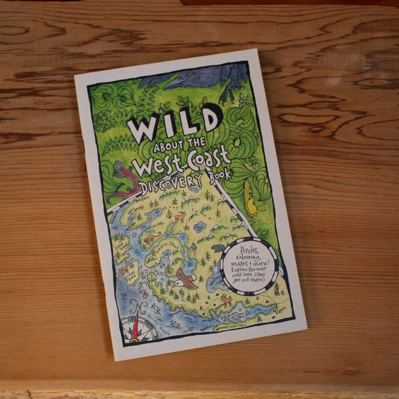 Image of WILD About the West Coast Activity Book