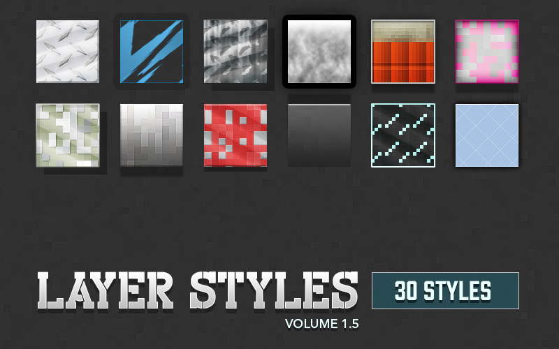 Image of Layer Styles Volume 1.5