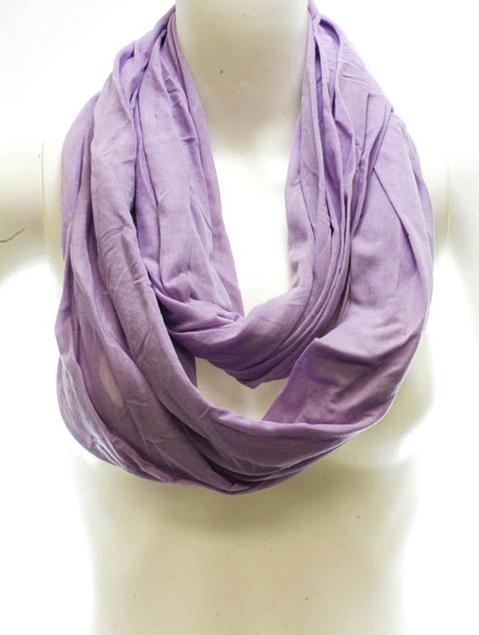 Image of Lilac Infinity Scarf