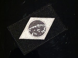 Image of Embroidered Tactical Brazil Flag Patch