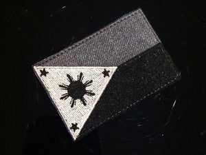 Image of Embroidered Tactical Philippine Flag Patch