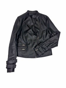 Image of Freya Biker Leather Jacket