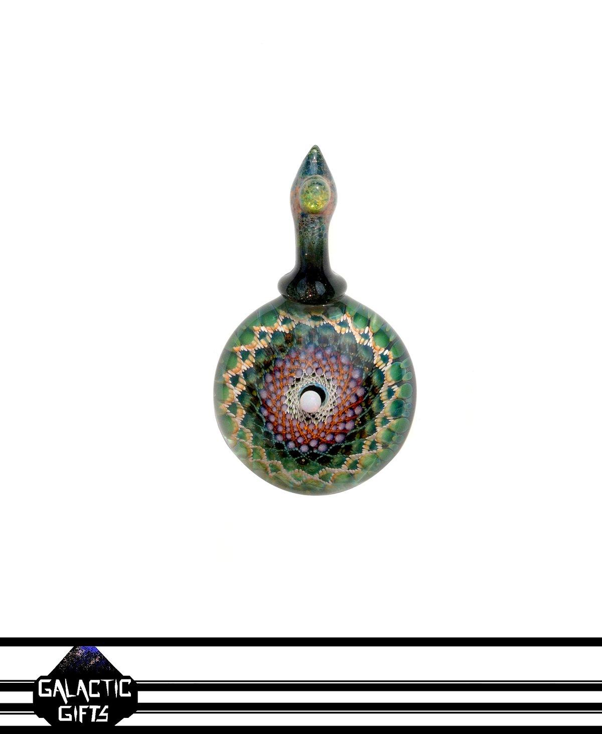 Image of Takao Miyake Opal Mandala Pendant 3