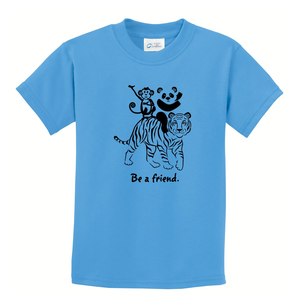 Image of Be a friend.
