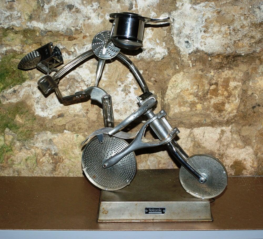 Image of Vélospir  Sculpture Spiromix