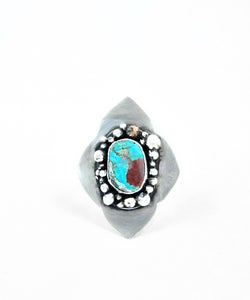 Image of Moroccan Sterling Ring