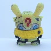 Image of Yellow BumbleBot by Mike Die
