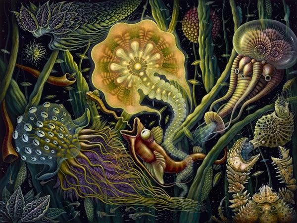 "Image of ""LIGHT CREATURE"", 18 x 24"" Open Edition Giclee"