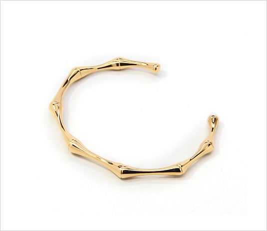 Image of GOLD BAMBOO CUFF