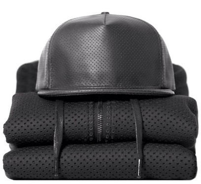Image of netted baseball cap