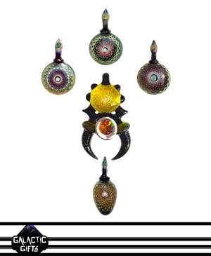 Image of Takao Miyake Opal Mandala Droplet Pendant