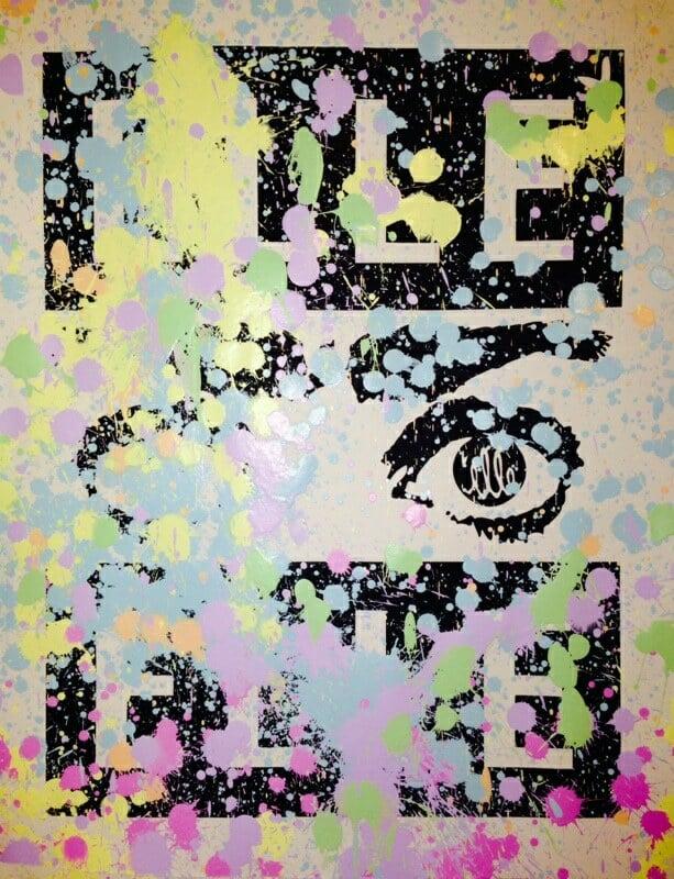 Image of ELLE - Extinguished print