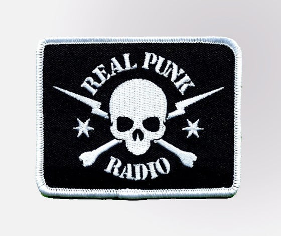 Image of Real Punk Radio Embroidered Patch