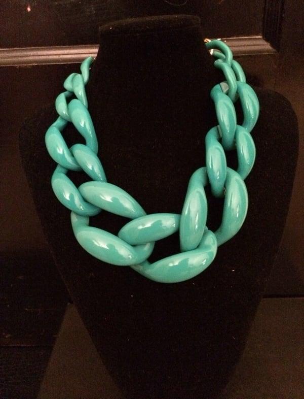 Image of Glacier link necklace