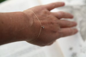 Image of 'LITTLE CHAMPAGNE DIAMOND' bracelet