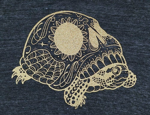 Image of Dia De La Turtle Women's Tee