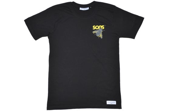 Image of Organic 'Return Of The Fly' Black Tee