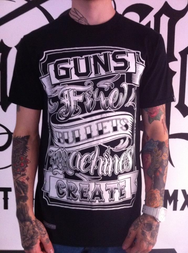 """Image of Tattoo """"Guns"""" Tee"""