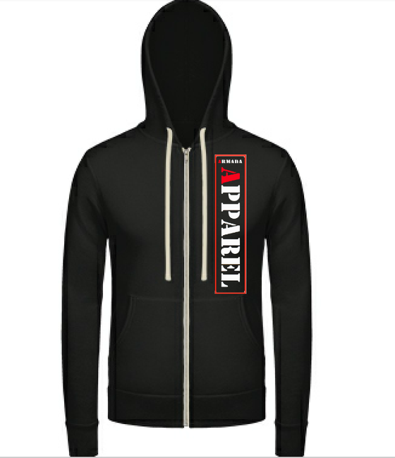 Image of Zip up hoodie