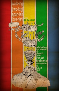 """Image of """"Cylinder-Head"""" CD Release Party Poster"""
